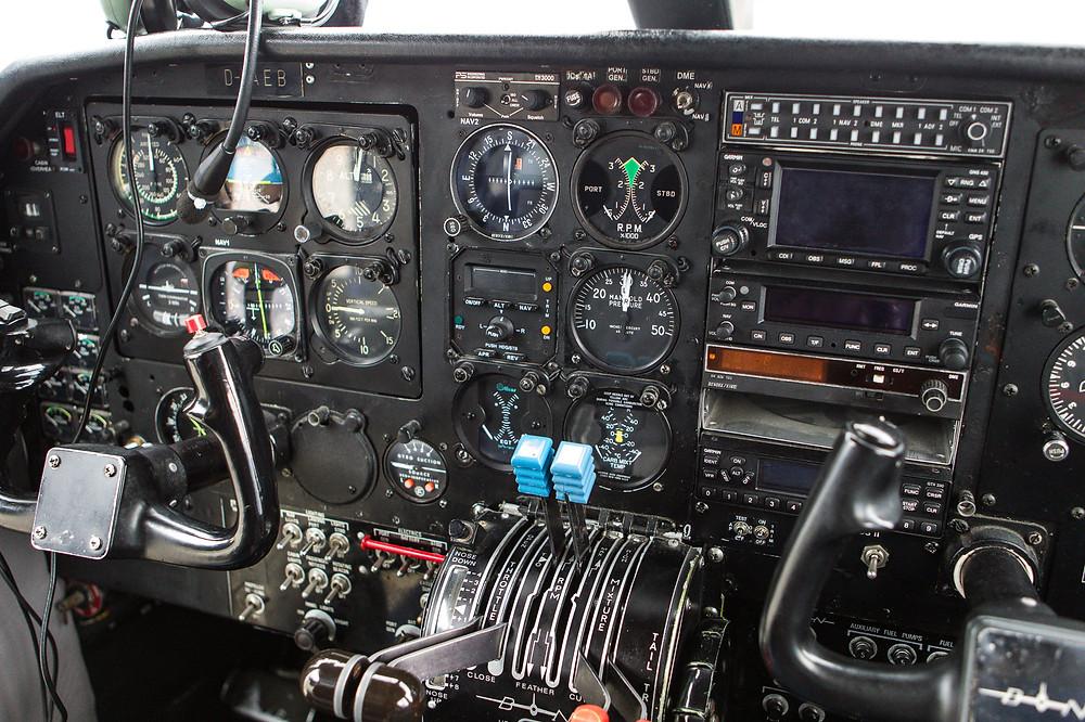 Islander cockpit