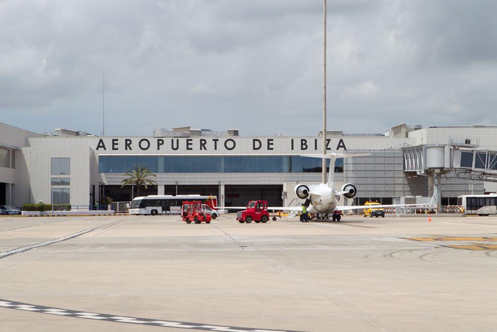 Ibiza terminal from ramp