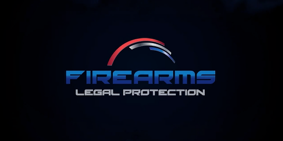 Firearm Legal Protection Seminar: $10/Person or $15/Couple