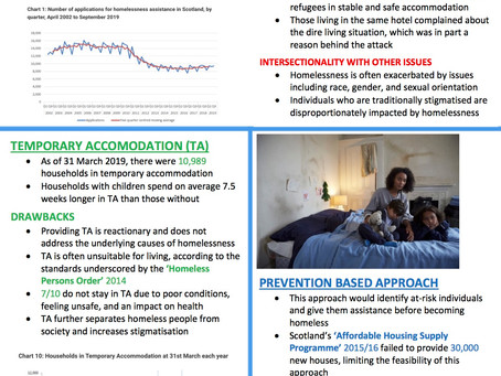 Homelessness in Scotland: Challenges and Solutions