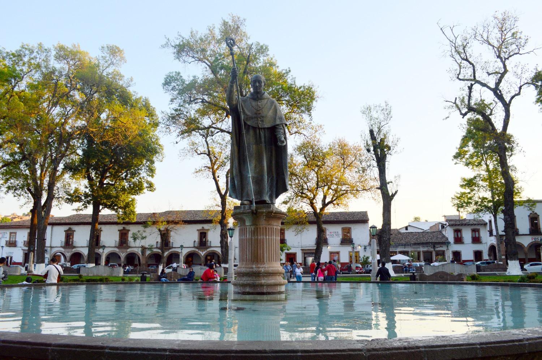 Don Vasco Quiroga Statue - Patzcuaro Michoacan