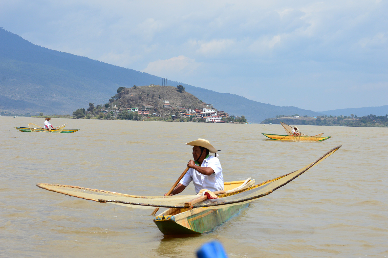 Butterfly Fisherman, Lake Patzcuaro Michoacan