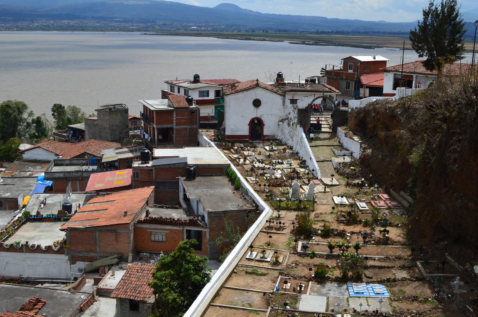 El Panteon - Isla de Janitzio Michoacan