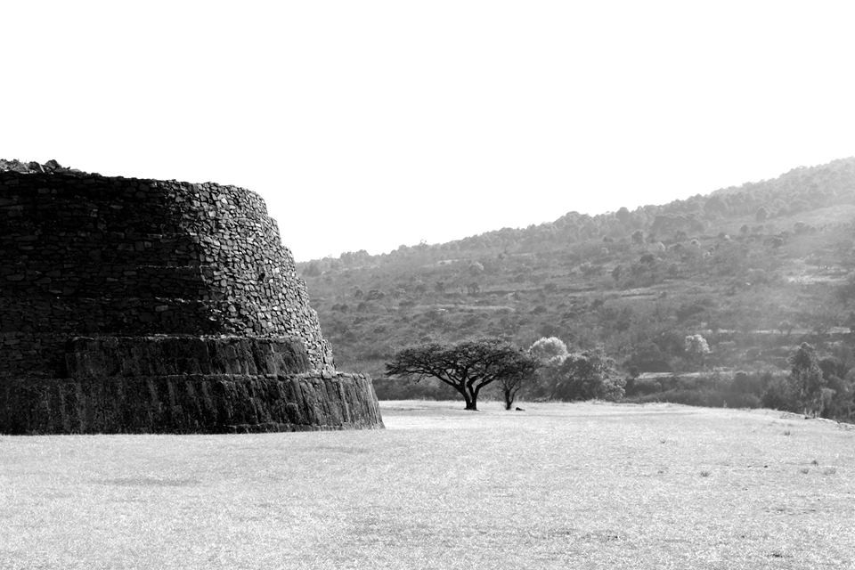 Tzintzuntzan Archaeological Site, Michoacan
