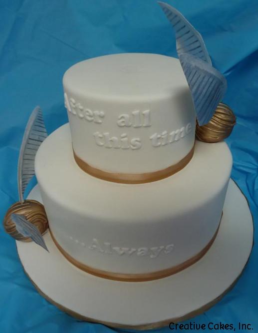 Harry Potter Wedding Cake.Unique 19 Harry Potter Wedding Cake