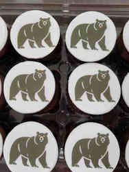 Other 28 School Logo Graduation Cupcakes