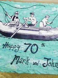 Hobbies 51 Fishermen's Birthday Cake