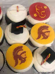 Other 32 USC Graduation Cupcakes