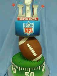 Winter 19 Superbowl Celebration Cake