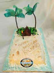 Pop 46 Survivor Birthday Cake
