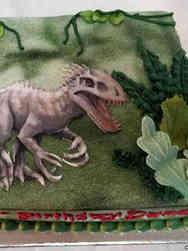 Animals 16 Indominous Rex Birthday Cake