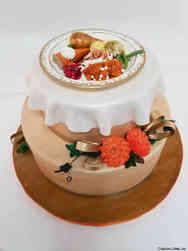 Autumn 21 Thanksgiving Dinner Cake