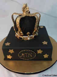 Fashion 68 Fit for a King Birthday Cake