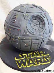 Pop 29 Death Star Birthday Cake