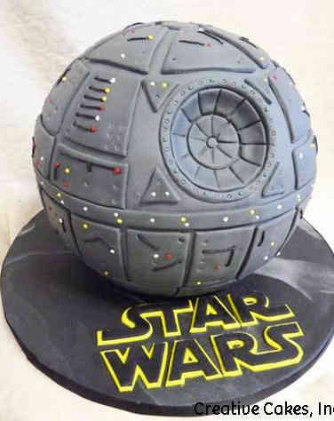 Pop 29 Death Star Birthday Cake