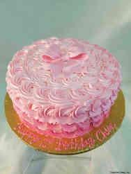 Princesses 34 Pretty Pink Roses Birthday Cake