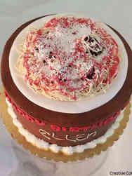 Food 25 Spaghetti and Meatballs Birthday Cake