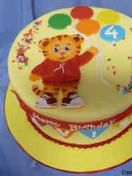 TV 26 Daniel Tiger Birthday Cake