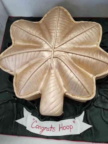Military 05 Major Oak Leaf Insignia Military Promotion Cake