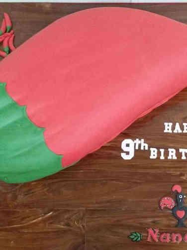 Corporate 11 Nando's Peri Peri Corporate Anniversary Celebration Cake