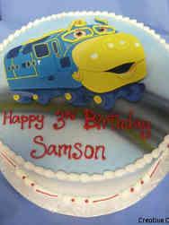 TV 27 Chuggington Birthday Cake