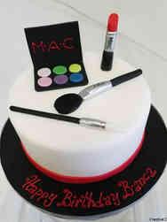 Fashion 29 MAC Makeup Birthday Cake