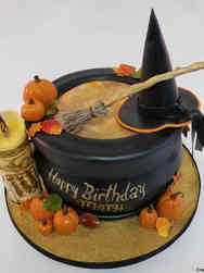 Autumn 18 Hocus Pocus Halloween Birthday Cake
