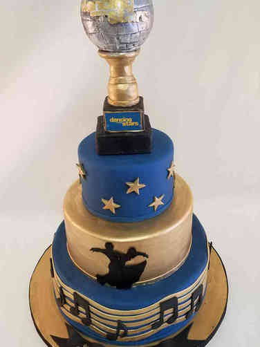 Hobbies 61 Dancing With the Stars Birthday Cake