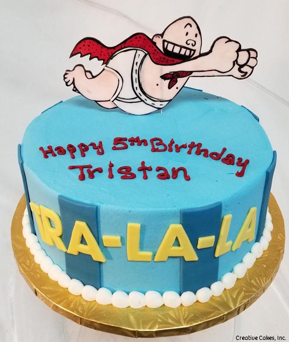 Movies 05 Captain Underpants Birthday Cake
