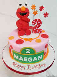 TV 05 3D Elmo Birthday Cake