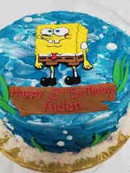 TV 07 Spongebob Squarepants Birthday Cake