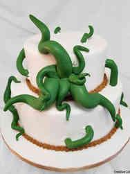 Unique 03 Cthulu Wedding Cake
