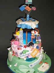 Other 14 Chevy Chase Maryland Anniversary Celebration Cake