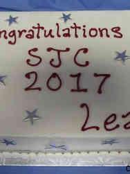 Other 19 Silver Stars Graduation Cake