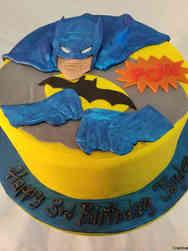 Superheroes 31 Retro Batman Birthday Cake