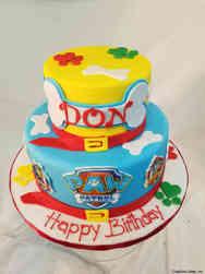 TV 28 Tiered Paw Patrol Birthday Cake