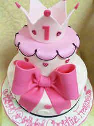 Girls 03 Pretty Princess First Birthday Cake Girls 04 Pink Bunny First Birthday Cake Girls 03 Pretty Princess First Birthday Cake