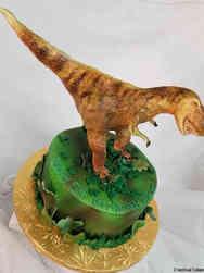 Animals 20 3D T Rex Birthday Cake