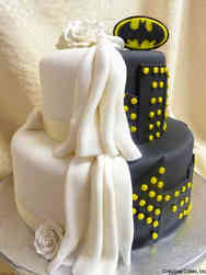Unique 20 Batman Wedding Cake
