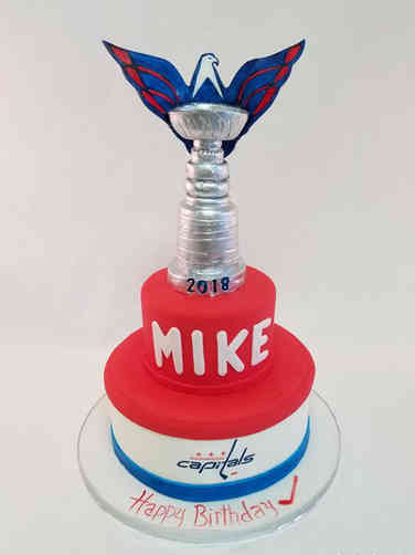 Sports 56 Washington Capitals Stanley Cup Birthday Cake