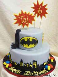 Superheroes 20 Lego Batman Birthday Cake