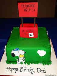 Pop 03 Doctor Snoopy Birthday Cake