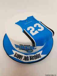 Sports 58 Orlando Magic Birthday Cake