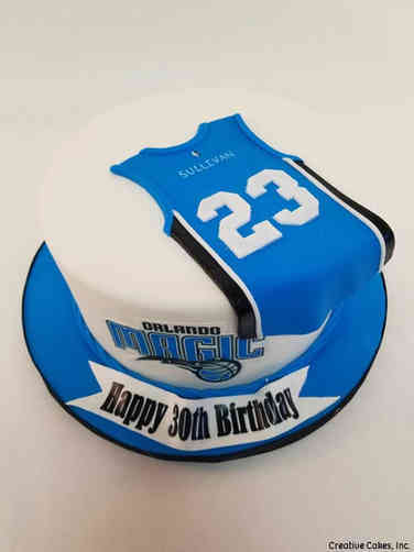 Sports 58 Orlando Magic Birthday Cake