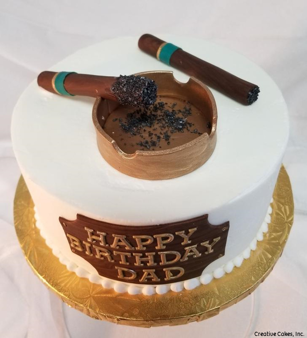Unique 16 Cigar Birthday Cake