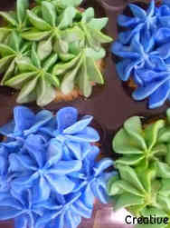 Other 14 Piped Flowers Celebration Cupcakes