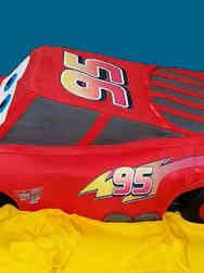 Movies 13 Giant 3D Lightning McQueen Cars Birthday Cake