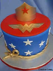 Pop 34 Wonder Woman Birthday Cake