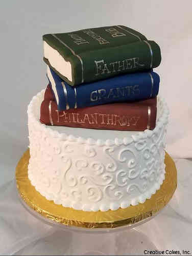 Hobbies 52 Books Birthday Cake