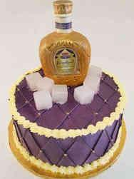 Food 40 Crown Royal Birthday Cake